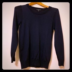 J Crew 100% Cashmere Sweater (Navy)